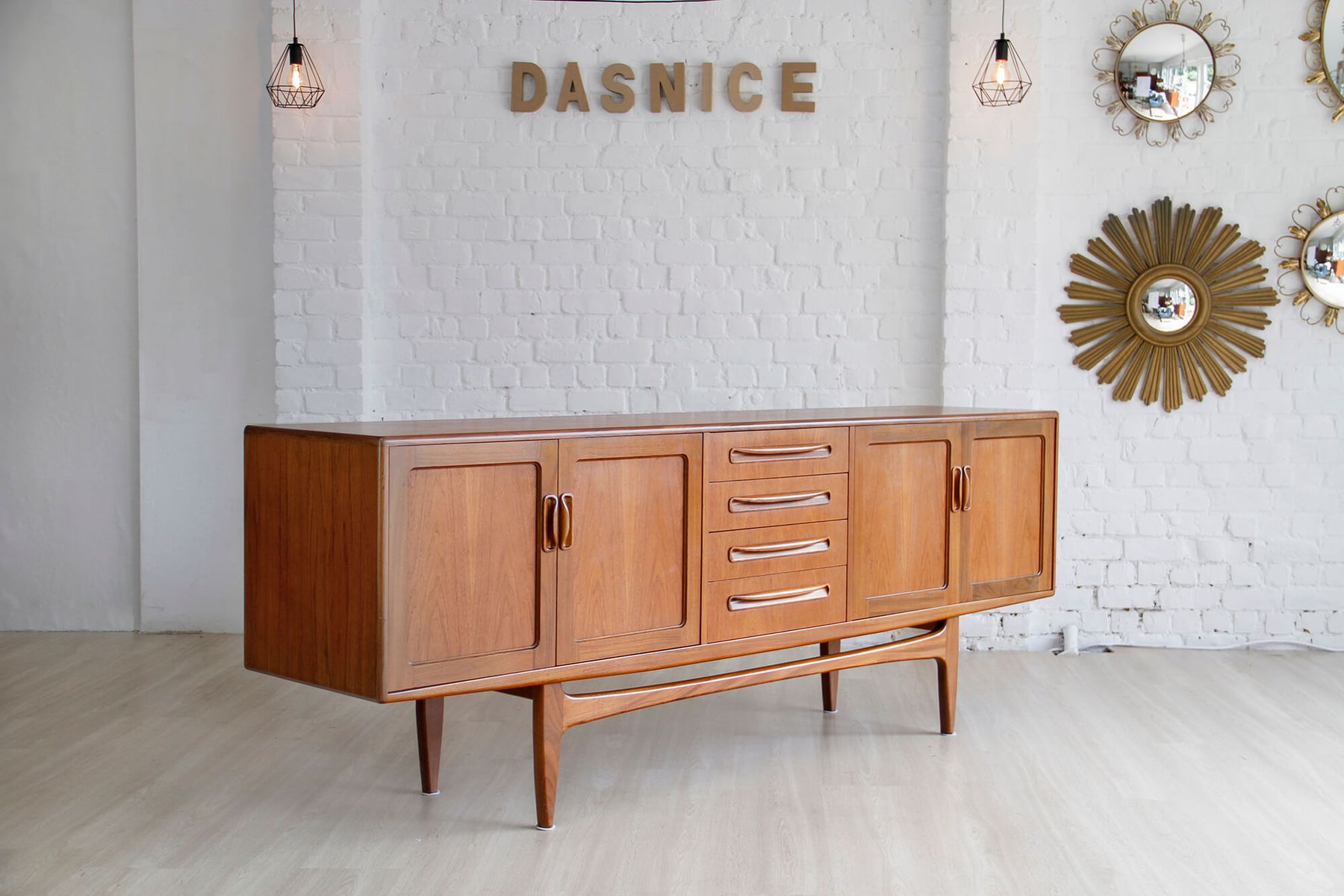 vintage sideboard in teak by ib kofod larsen for g plan. Black Bedroom Furniture Sets. Home Design Ideas