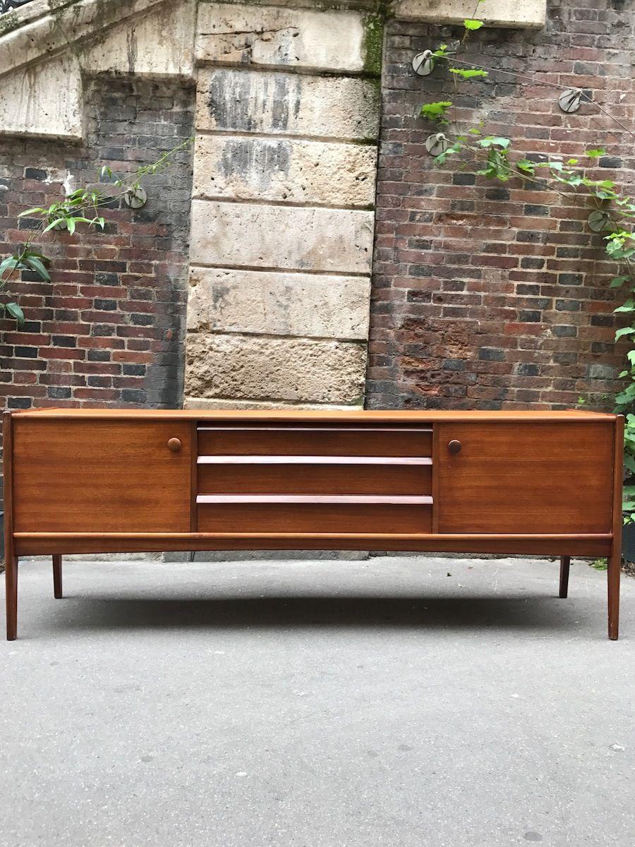 silva sideboard by john herbert 1960s for sale at pamono. Black Bedroom Furniture Sets. Home Design Ideas