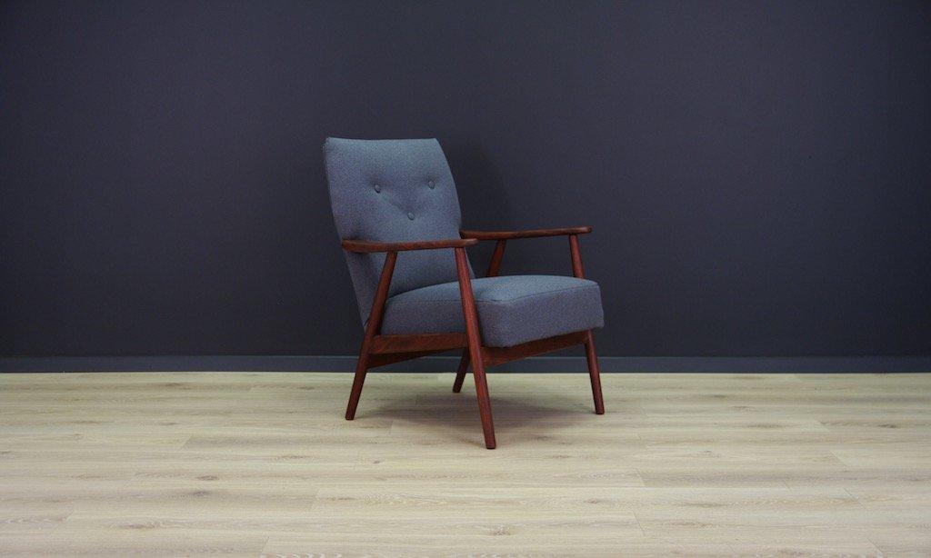 skandinavischer vintage teak stuhl bei pamono kaufen. Black Bedroom Furniture Sets. Home Design Ideas