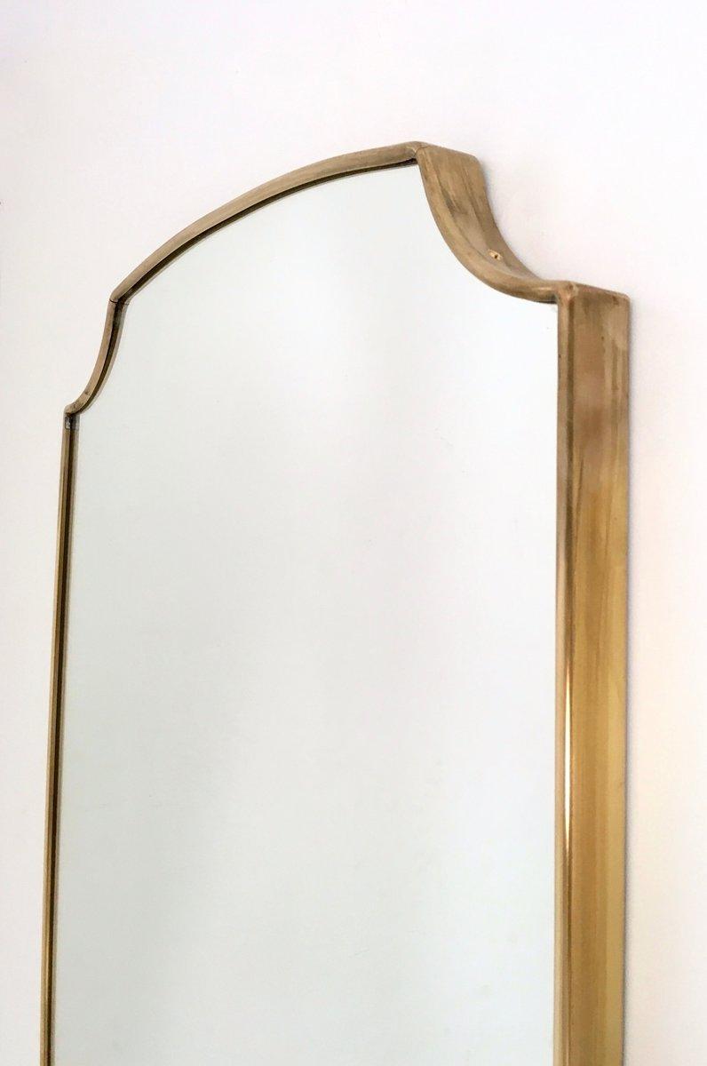 Italienische mid century wandspiegel mit rahmen aus - Italienische designer wandspiegel ...