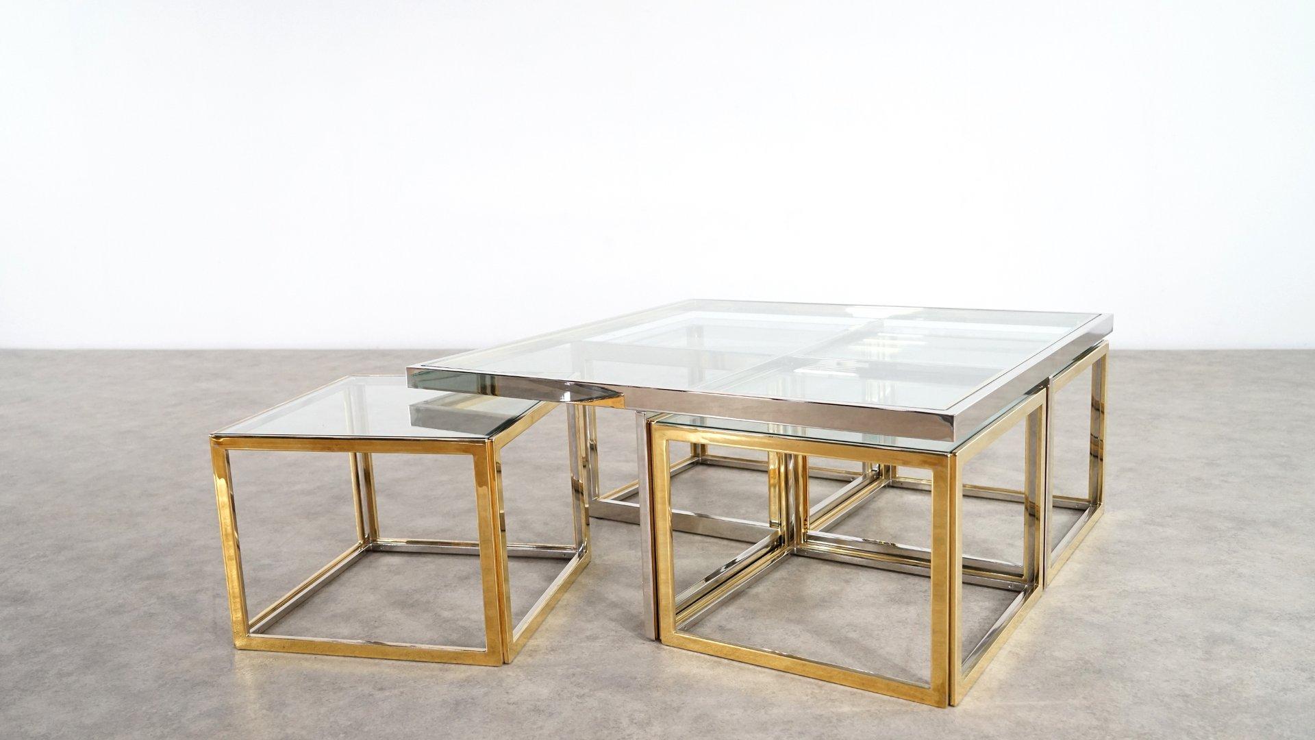 vintage large coffee table rascalartsnyc