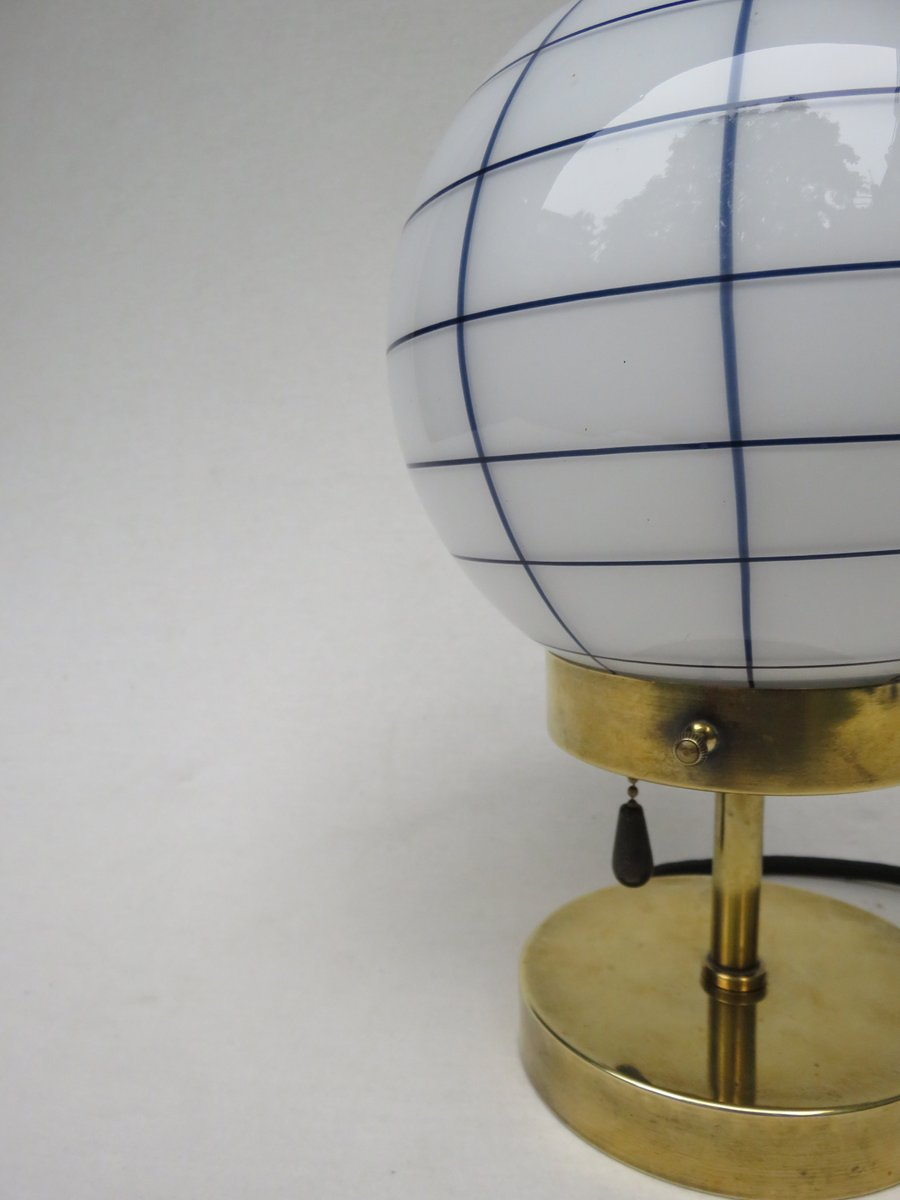 Vintage small art deco brass table lamp for sale at pamono vintage small art deco brass table lamp geotapseo Choice Image