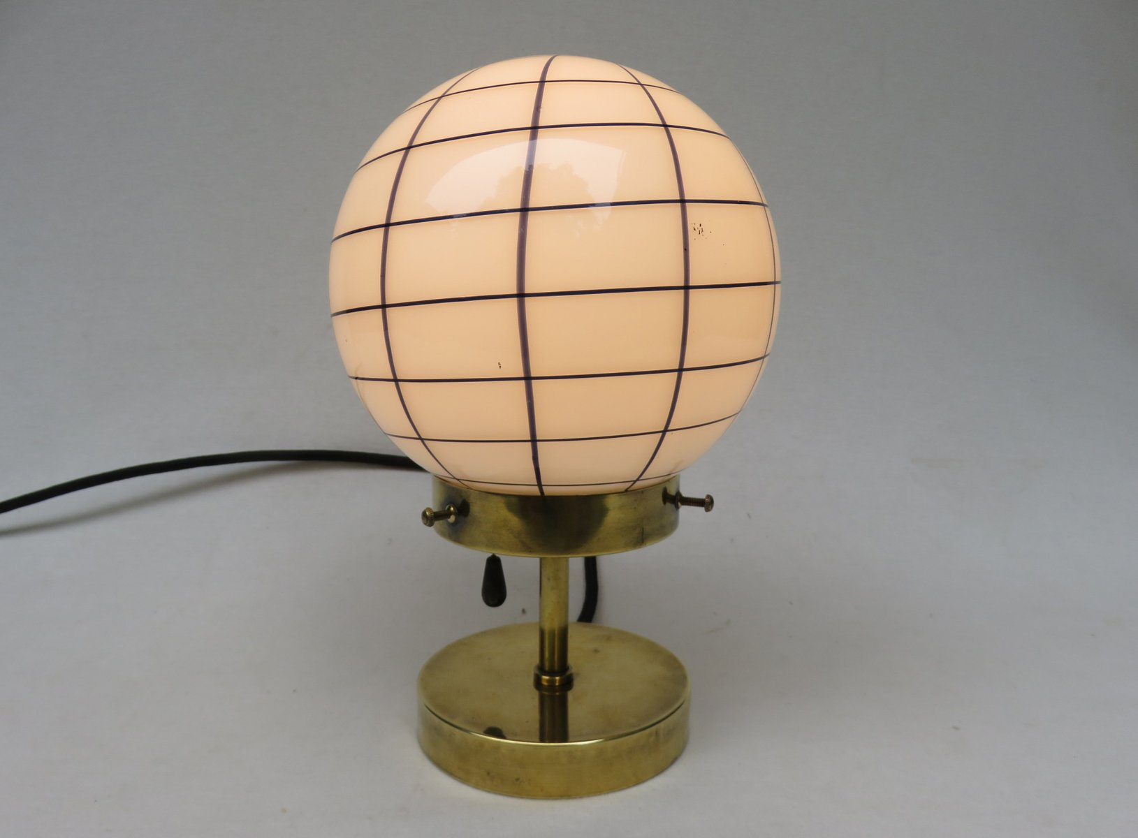 Vintage small art deco brass table lamp for sale at pamono vintage small art deco brass table lamp 17 125000 geotapseo Choice Image