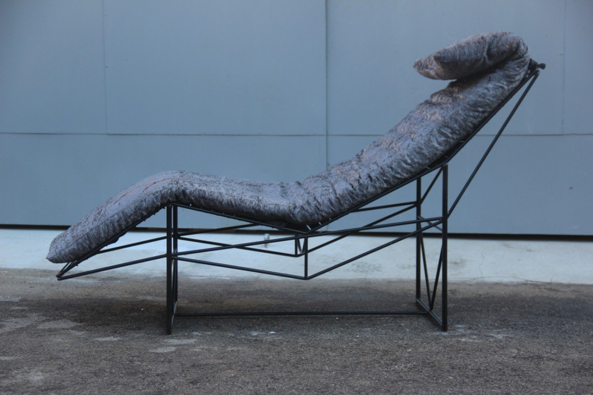 Chaise longue by paolo passerini for uvet 1985 for sale for Chaise for sale