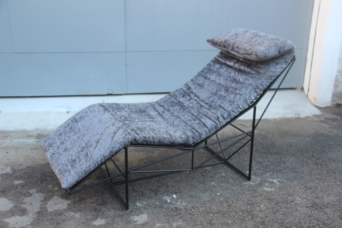 Chaise longue by paolo passerini for uvet 1985 for sale for Chaise longue for sale