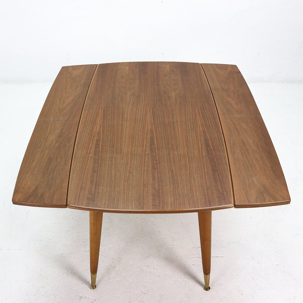 Walnut Veneer Coffee or Dining Table 1950s for sale at Pamono : walnut veneer coffee or dining table 1950s 10 from www.pamono.com size 1000 x 1000 jpeg 635kB