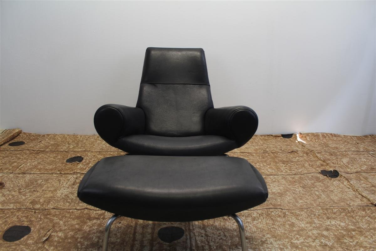 Vintage armchairs with ottoman 1960s set of 3 for sale for Armchair with ottoman