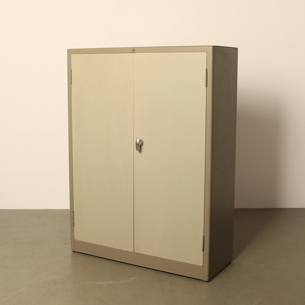 Mid-Century Two Door Filing Cabinet by Willem Hendrik Gispen for ...
