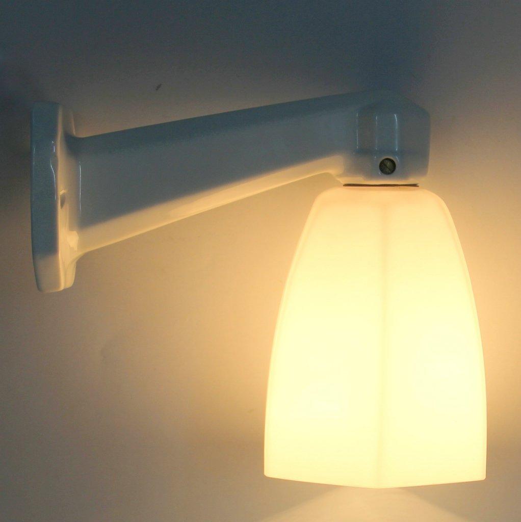 Art deco badezimmer wandlampe bei pamono kaufen - Badezimmer wandlampe ...