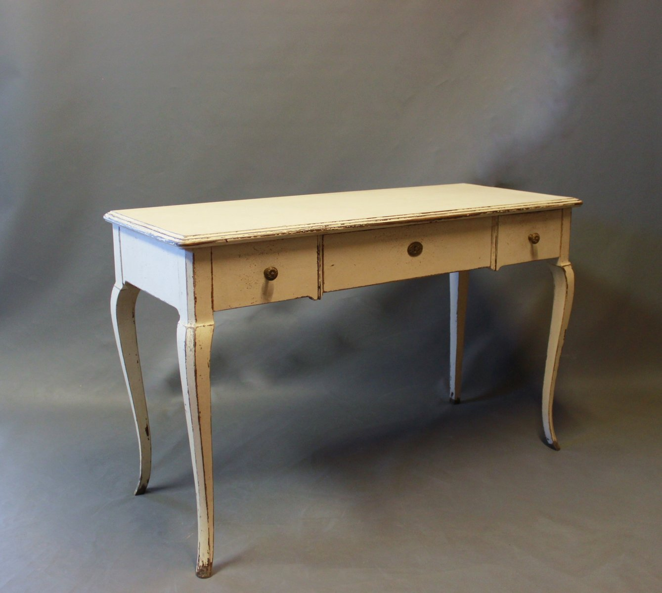 Grey Painted Desk, 1930s