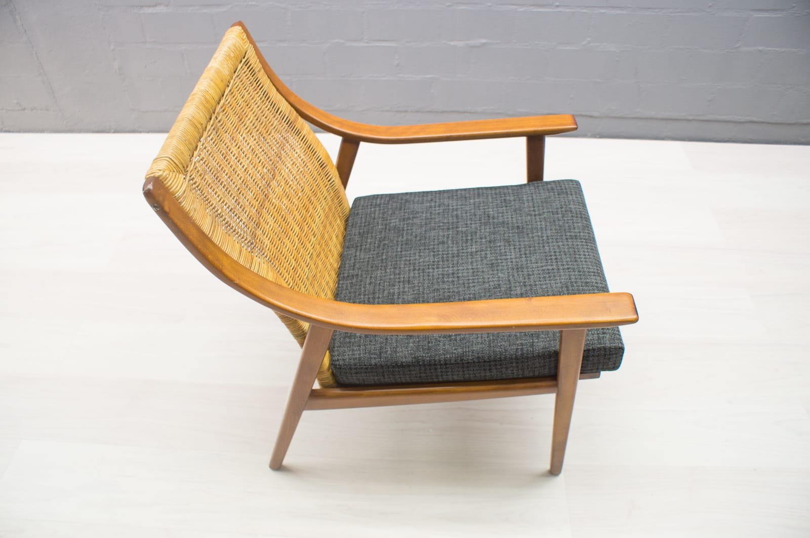 Mid century scandinavian easy chair 1950s for sale at pamono for Z chair mid century