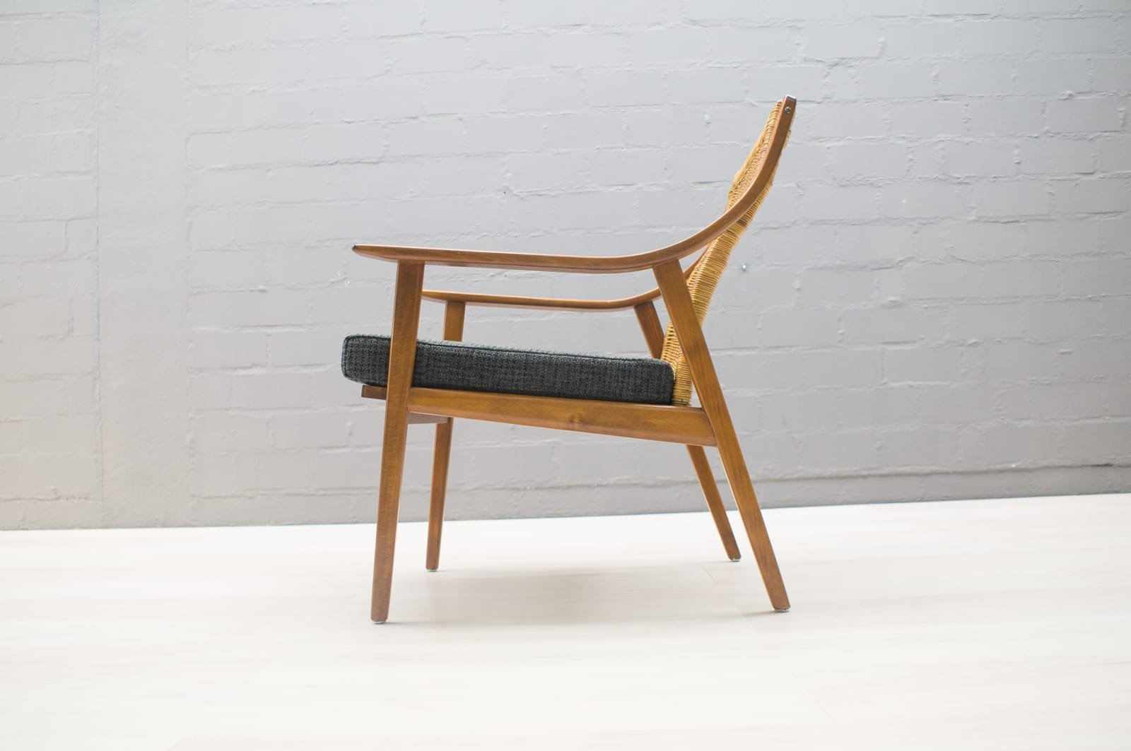 Mid century scandinavian easy chair 1950s for sale at pamono - Scandinavian chair ...