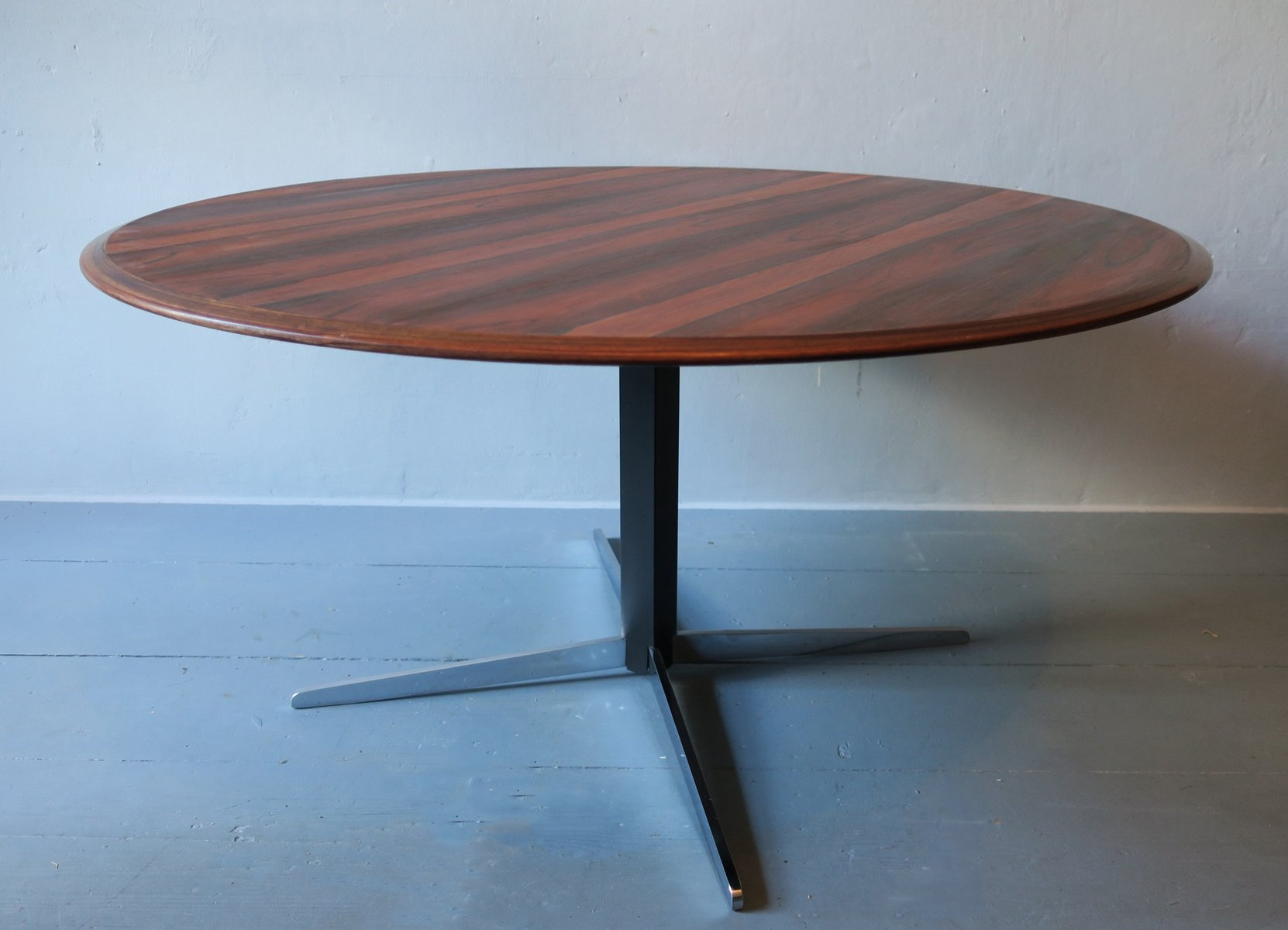 Adjustable Rosewood Dining or Coffee Table by Wilhelm Renz 1960s