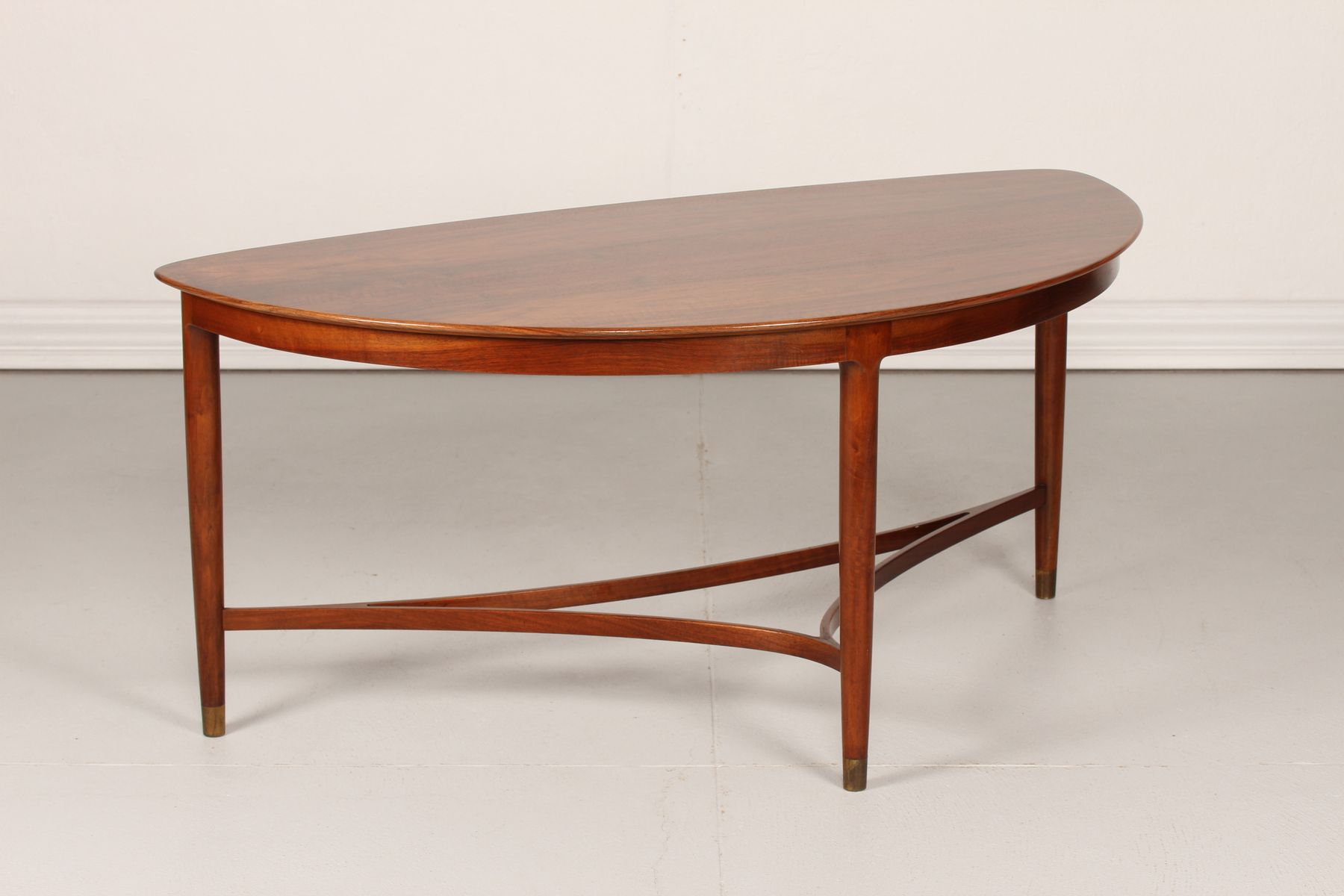 Danish Triangular Coffee Table 1950s for sale at Pamono