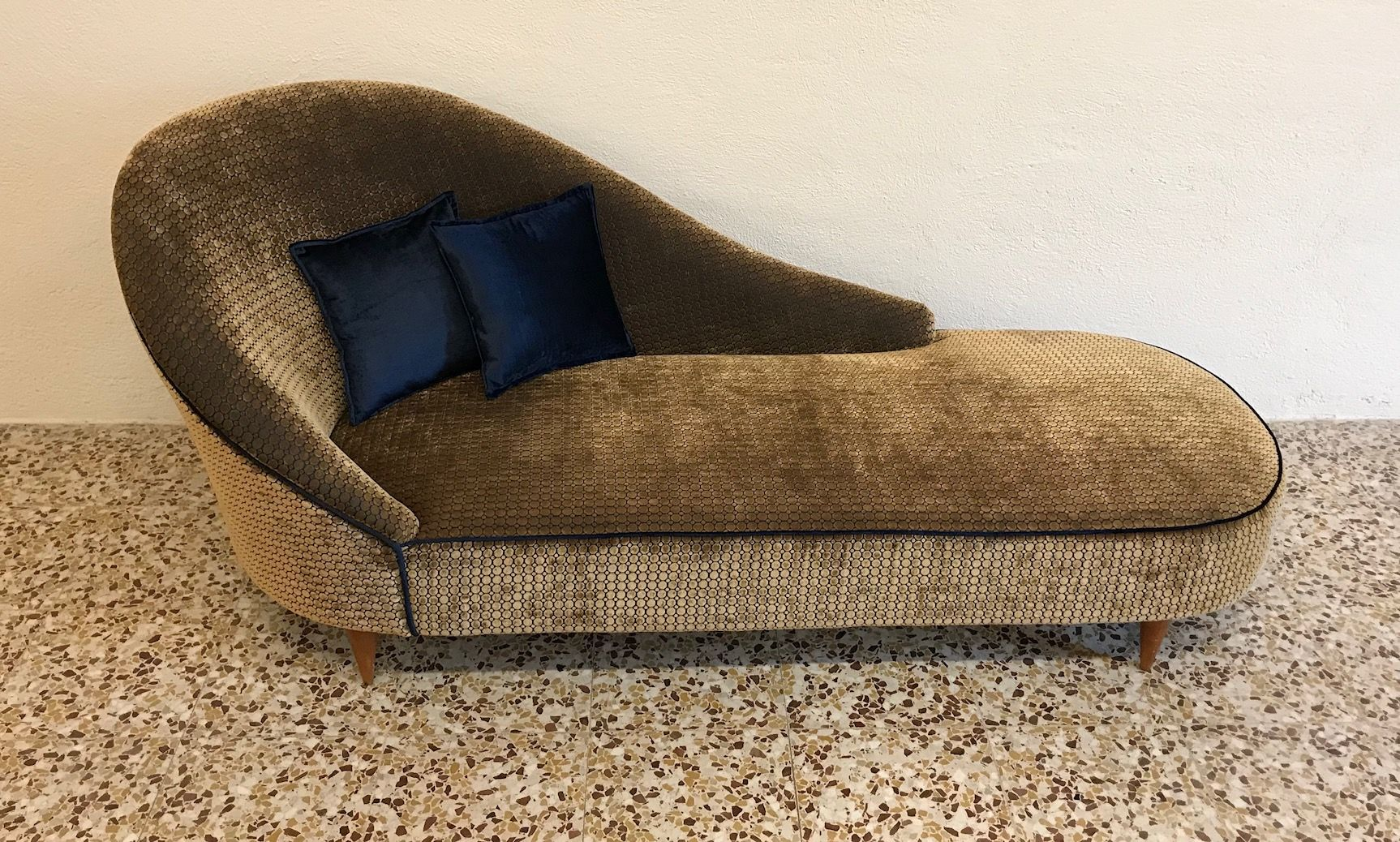 Italian Chaise Longue 1950s : italian chaise - Sectionals, Sofas & Couches