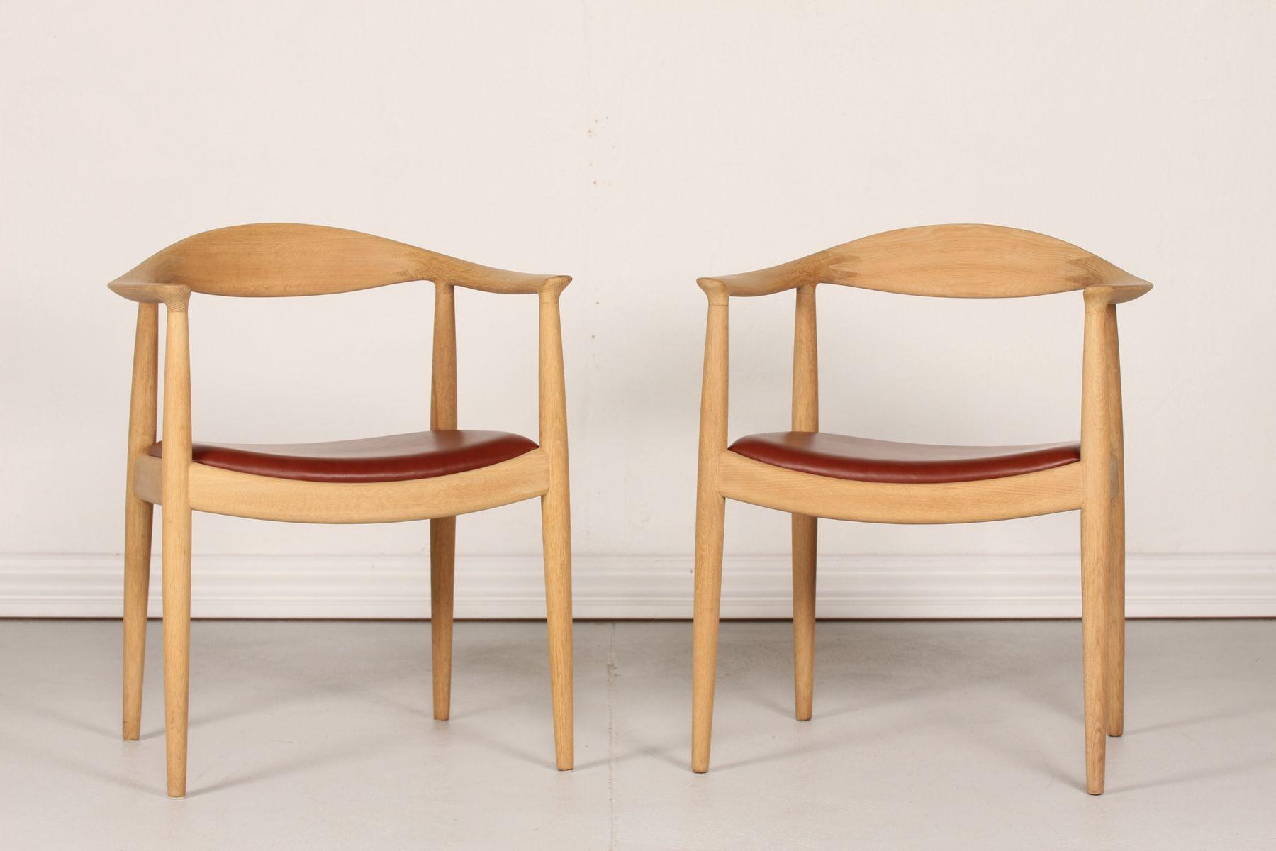 JH 503 The Chair by Hans J Wegner for Johannes Hansen Copenhagen