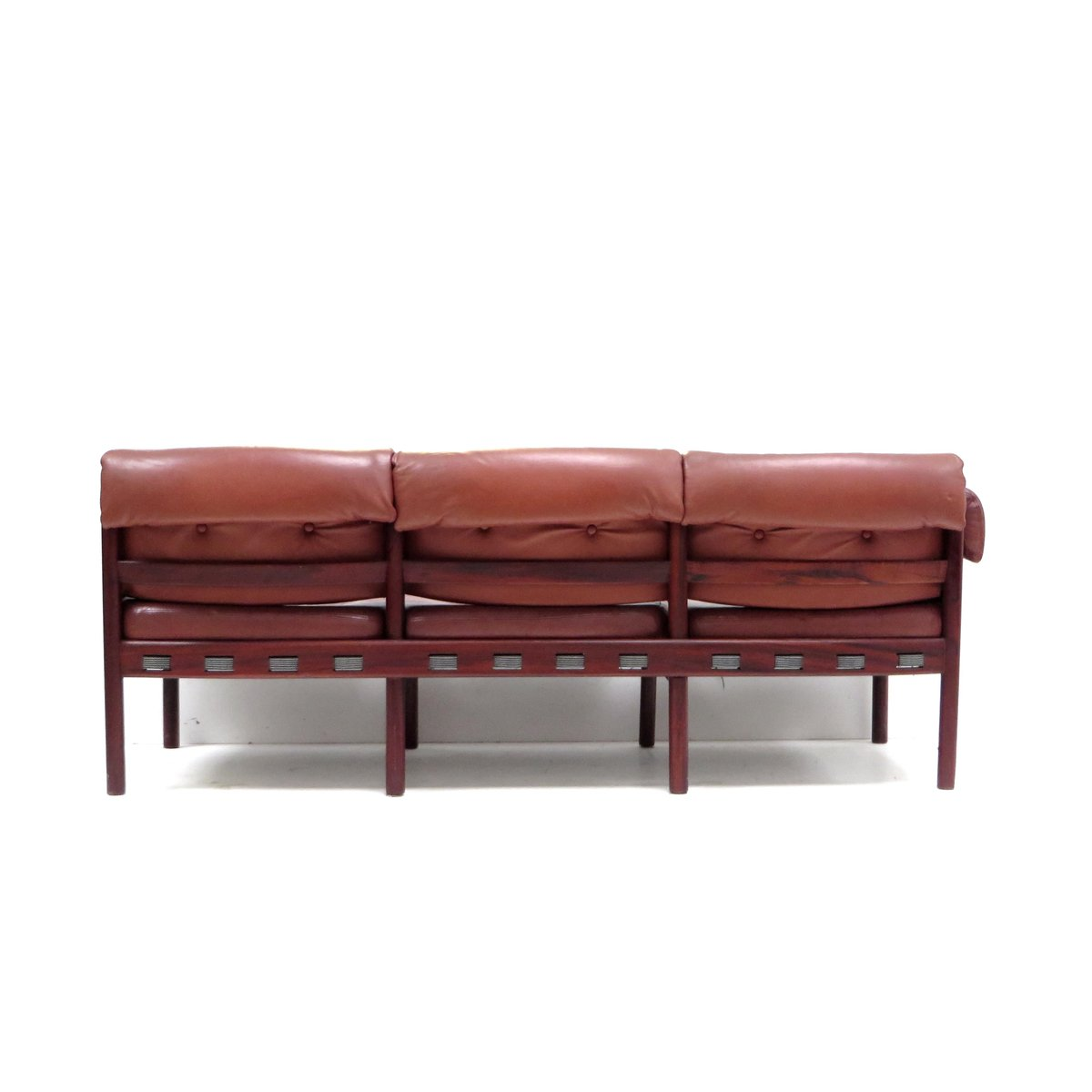 Leather Corner Sofa With Table 1960s For Sale At Pamono
