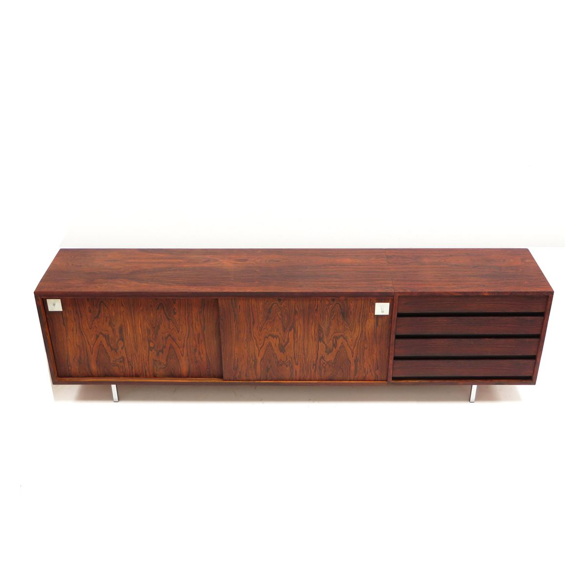 Vintage sideboard in rosewood 1960s for sale at pamono for Sideboard 60 tief