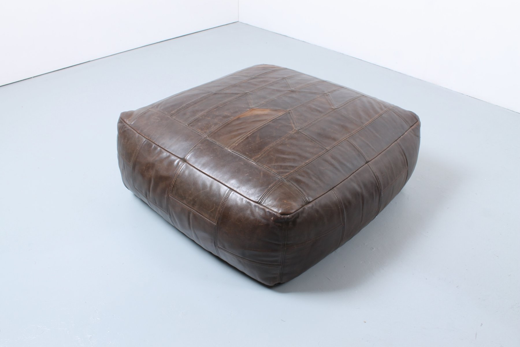 Leder Pouf leder pouf beautiful hudson caramel leather pouf with leder