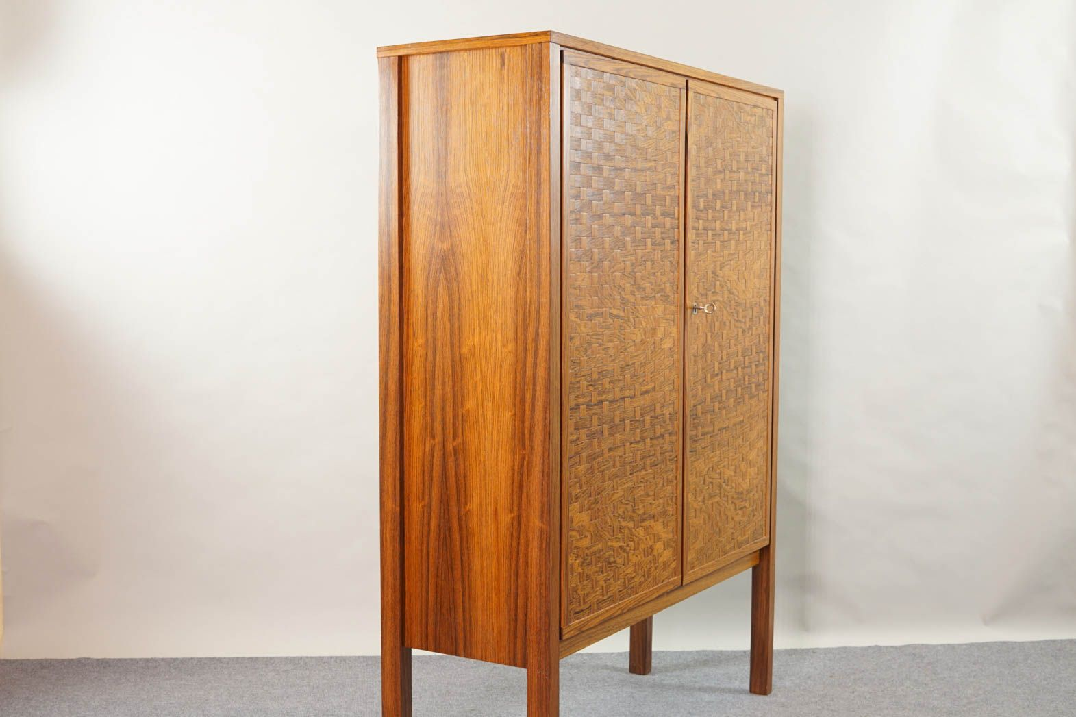 vintage rosewood highboard by poul cadovius for cado for. Black Bedroom Furniture Sets. Home Design Ideas