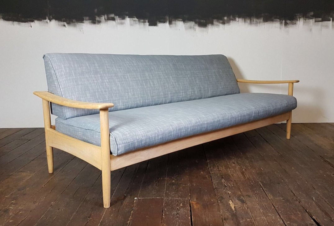 Mid-Century Sofa Bed By Guy Rogers