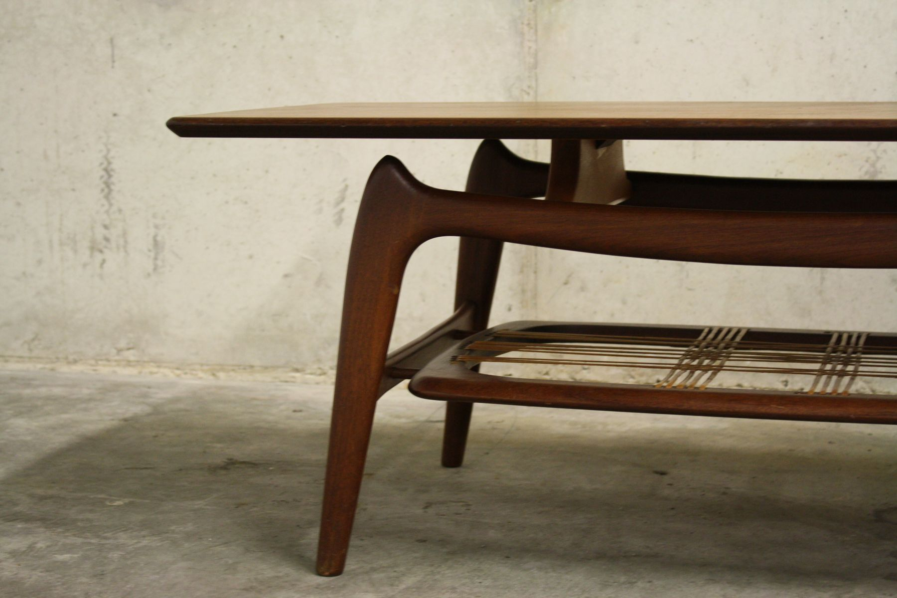 Organic Coffee Table by Louis Van Teeffelen for WéBé 1958 for