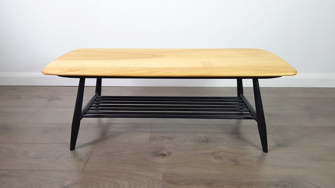 Vintage Coffee Table by Lucian Ercolani for Ercol 1960s for sale