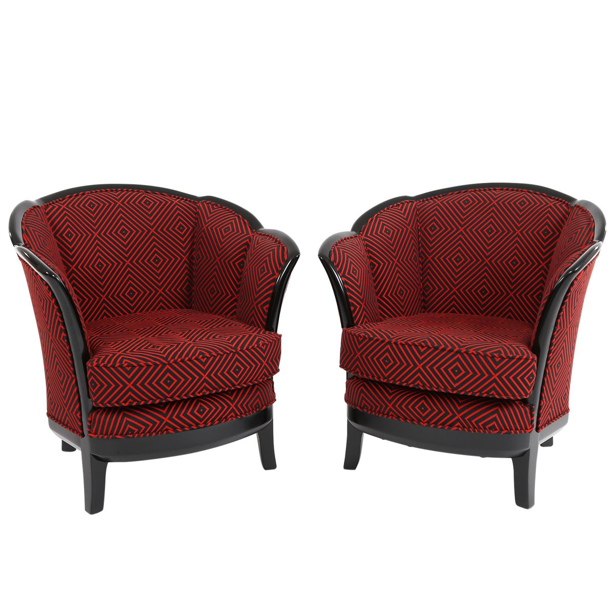Art Deco Club Chairs 1930s Set Of 2 For Sale At Pamono