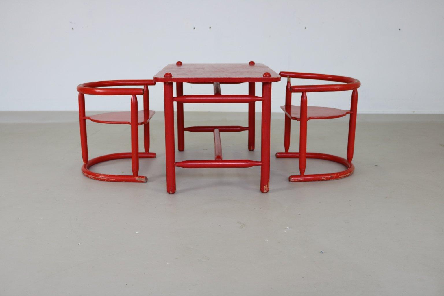 dreiteilige anna kindersitzgruppe von karin mobring f r. Black Bedroom Furniture Sets. Home Design Ideas