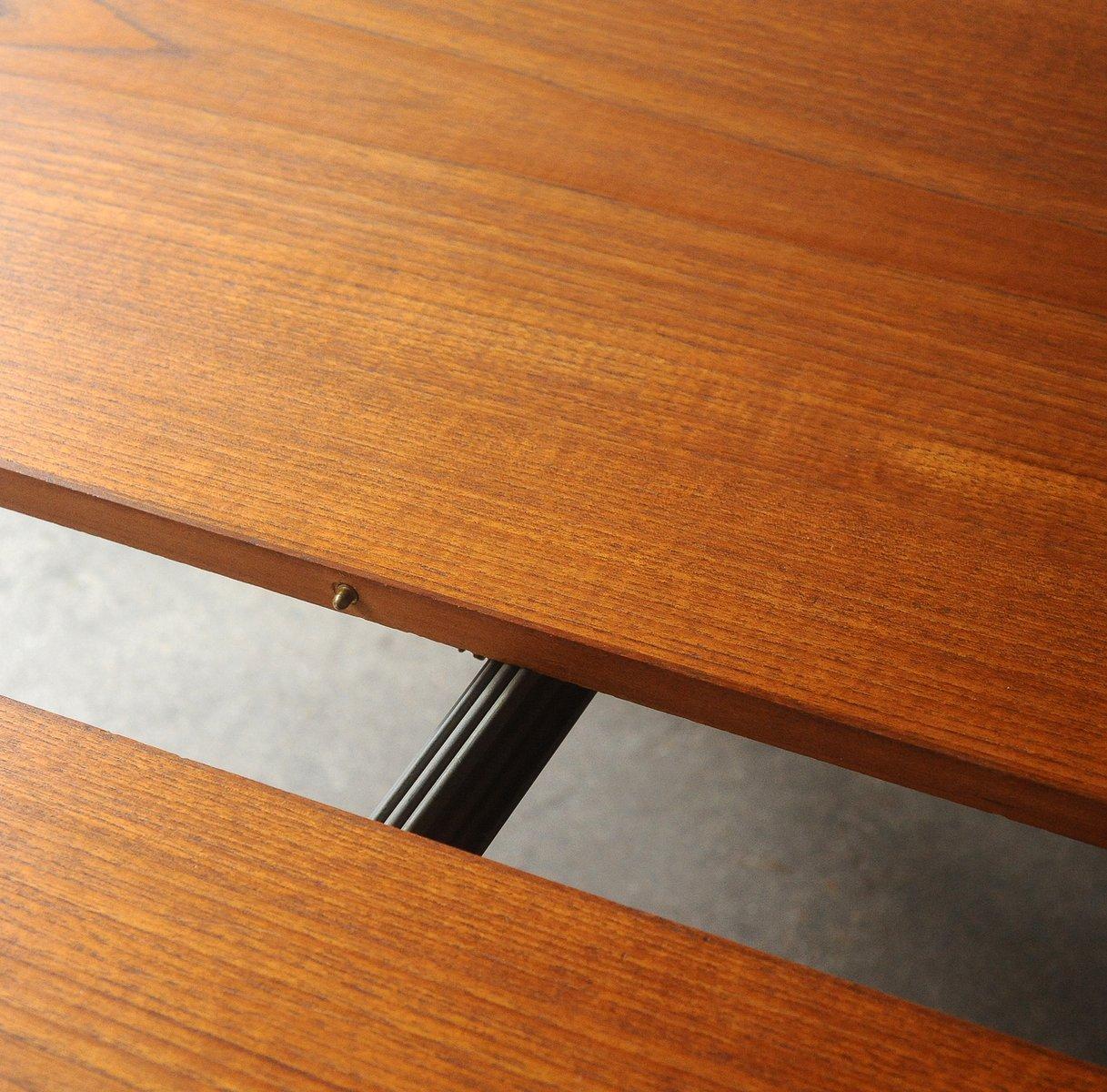runder vintage tisch von henry rosengren hansen bei pamono kaufen. Black Bedroom Furniture Sets. Home Design Ideas