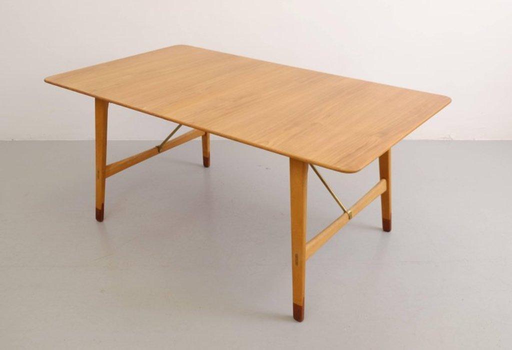 Tavolo da pranzo, Svezia, anni \'50 in vendita su Pamono