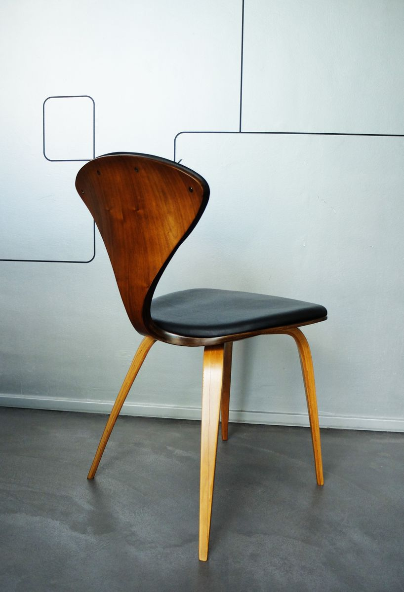 vintage plywood chair by norman cherner for plycraft for sale at