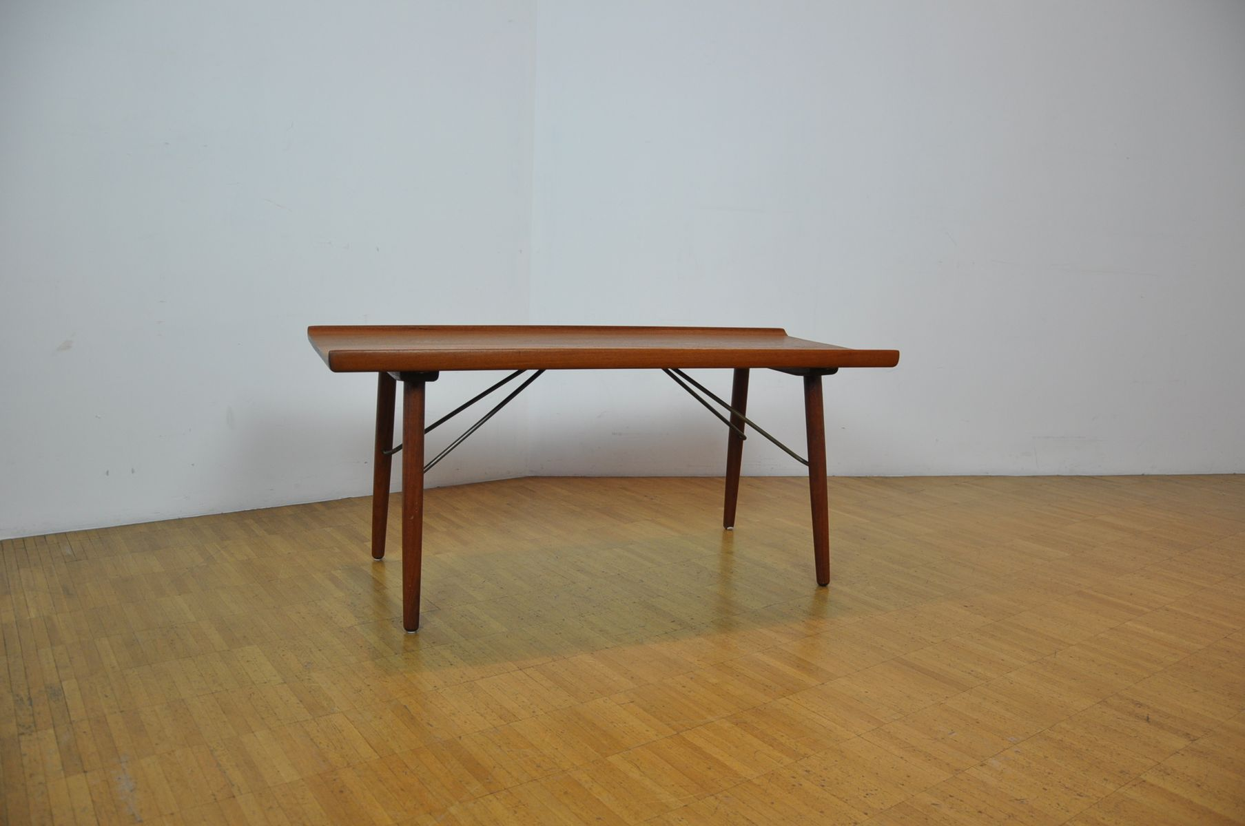Side Table by Borge Mogensen for Soborg 1950s for sale at Pamono
