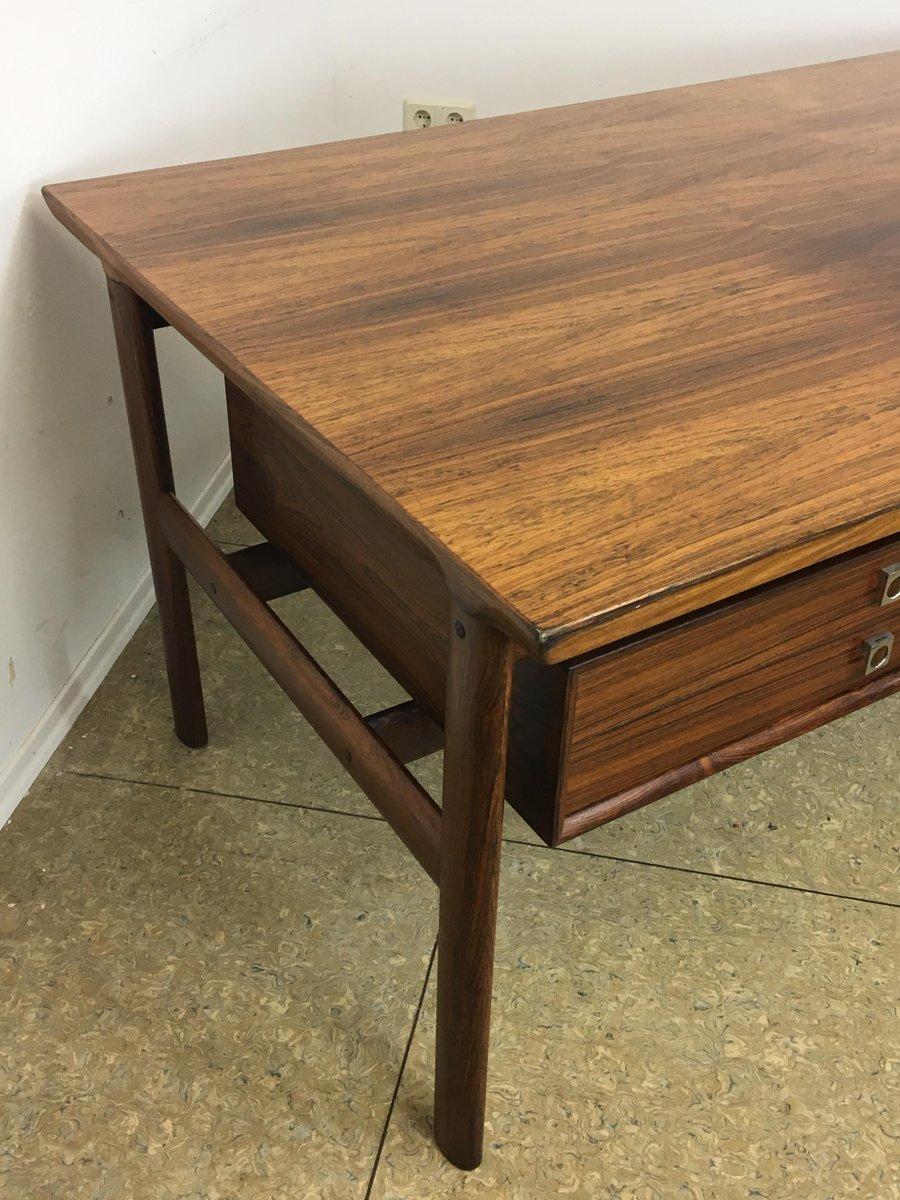 palisander schreibtisch von arne vodder f r sibast 1960er. Black Bedroom Furniture Sets. Home Design Ideas