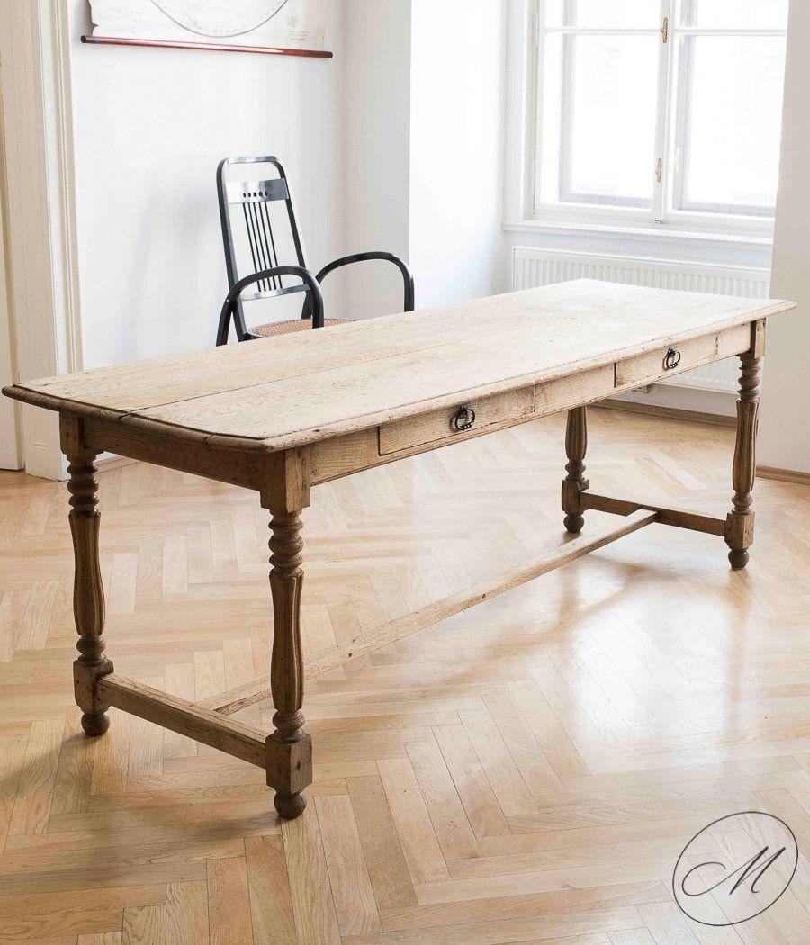 franz sischer landhaus tisch aus 19 jhdt bei pamono kaufen. Black Bedroom Furniture Sets. Home Design Ideas