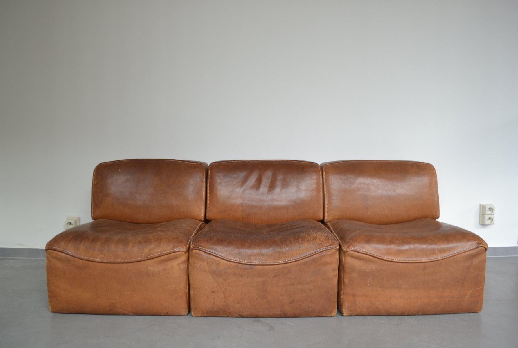 modulares ds15 sofa von de sede 1970er bei pamono kaufen. Black Bedroom Furniture Sets. Home Design Ideas