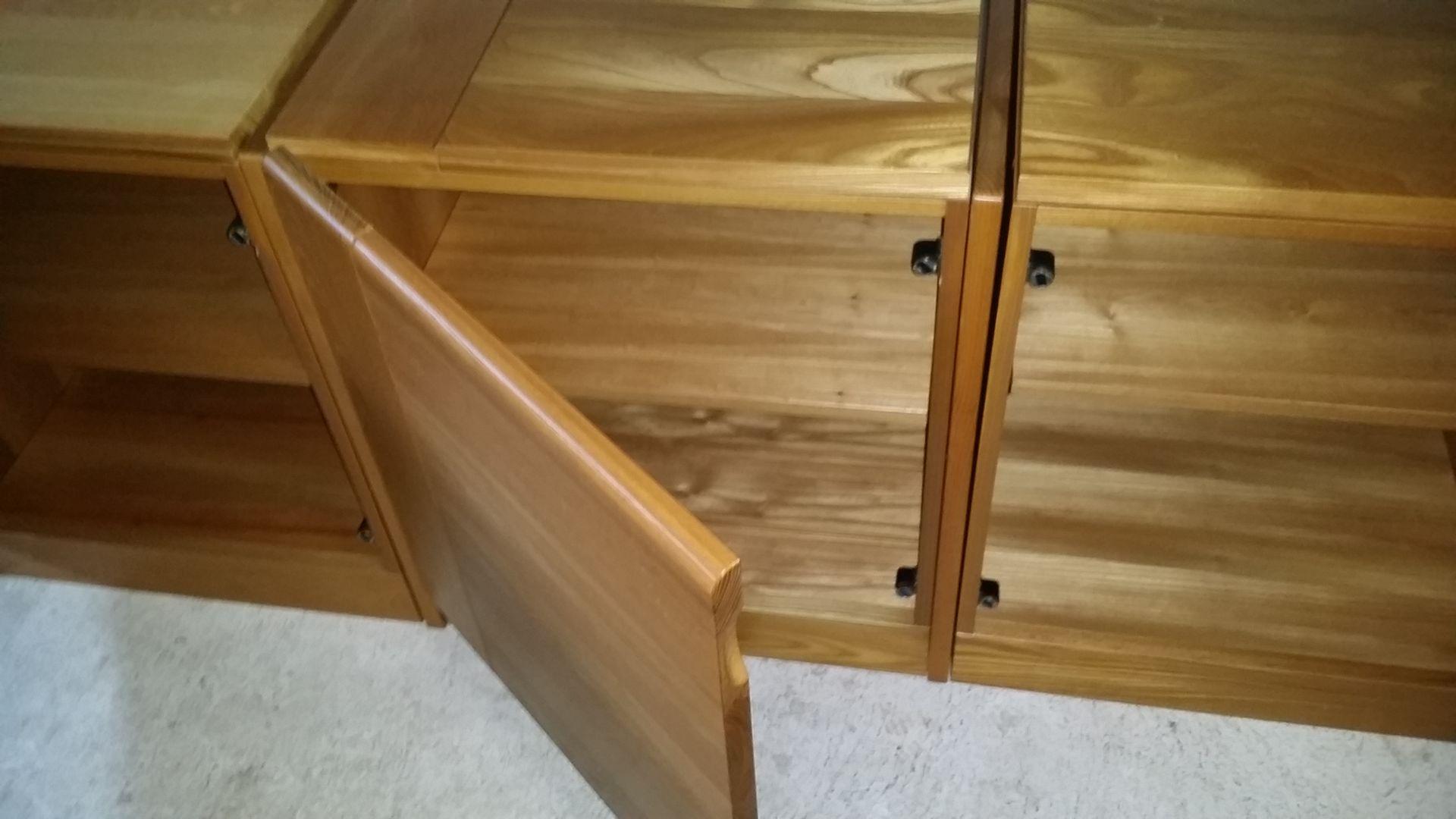 enfilade modulaire 3 pi ces de regain 1980s en vente sur pamono. Black Bedroom Furniture Sets. Home Design Ideas
