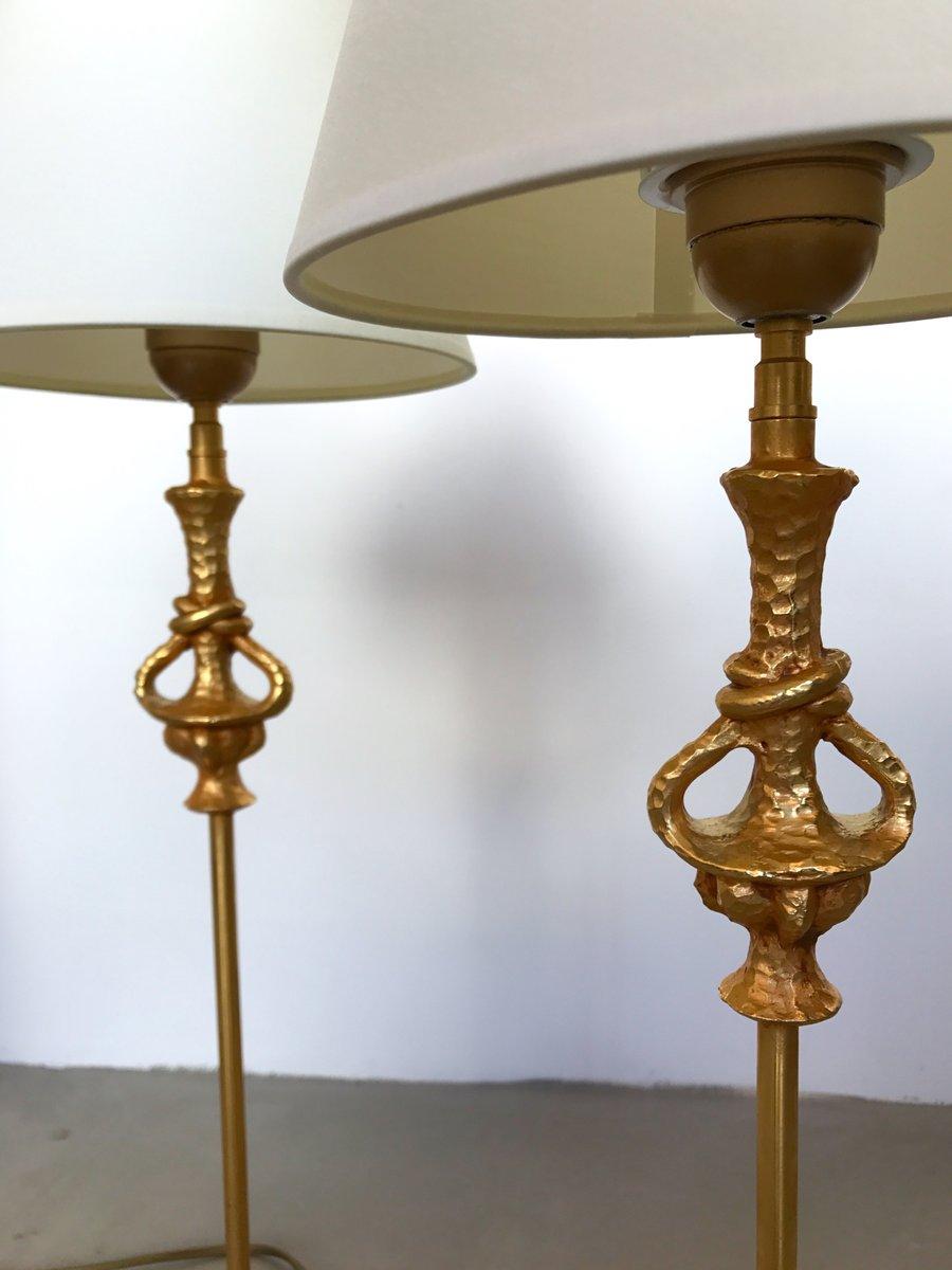 franz sische lampen von nicolas de wael f r fondica 1990er 2er set bei pamono kaufen. Black Bedroom Furniture Sets. Home Design Ideas