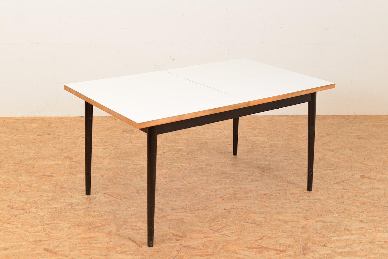 Ausziehbarer vintage tisch von fred ruf f r wohnbedarf bei for Ausziehbarer tisch
