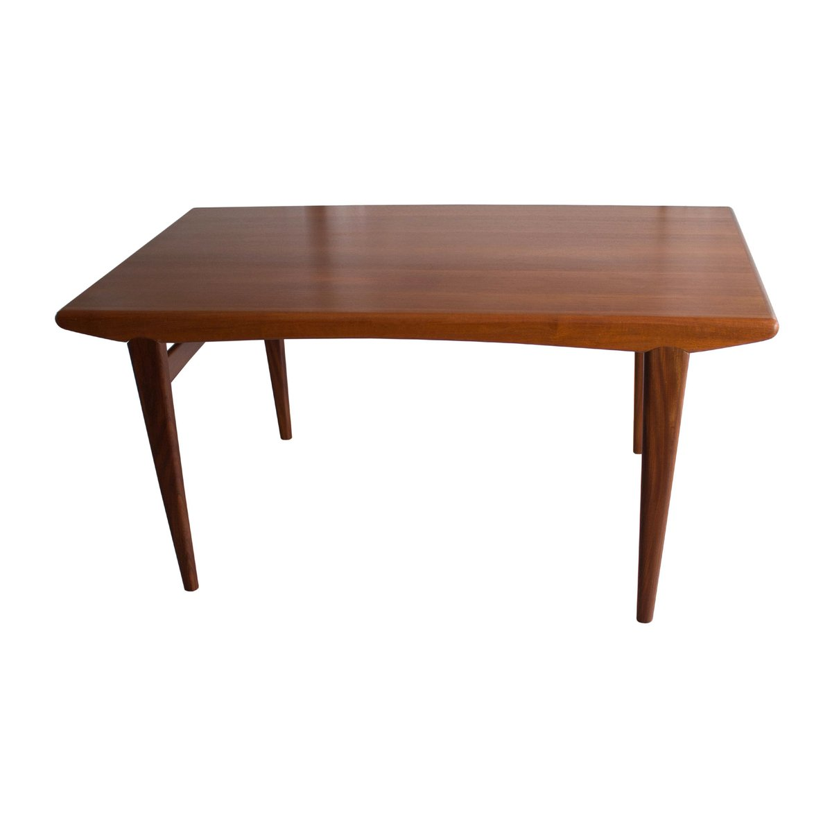 ausziehbarer teak esstisch 1960er bei pamono kaufen. Black Bedroom Furniture Sets. Home Design Ideas