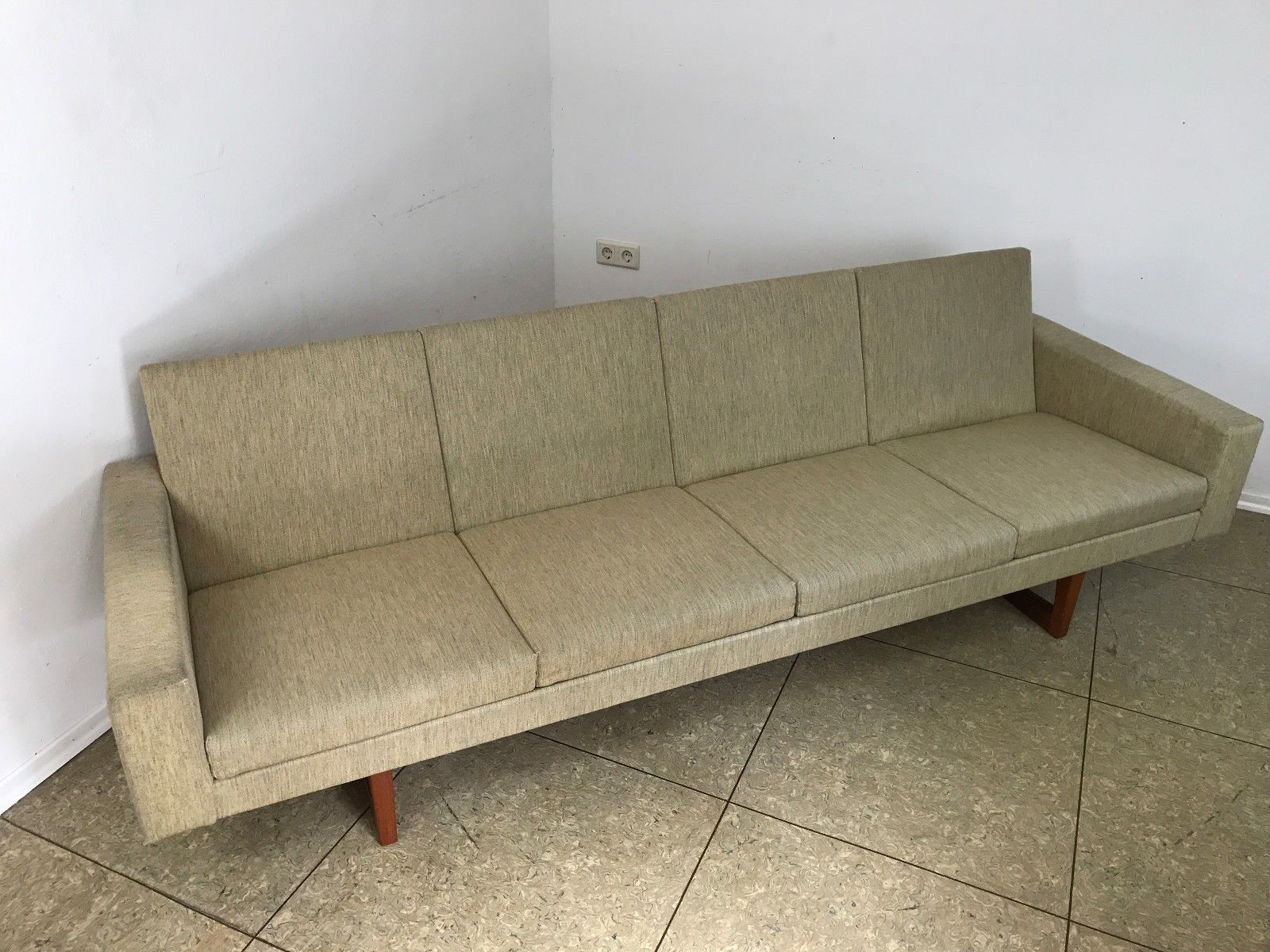 Teak Sofa by Ingvar Andersson for Effk¥ Swedish 1960s for sale at