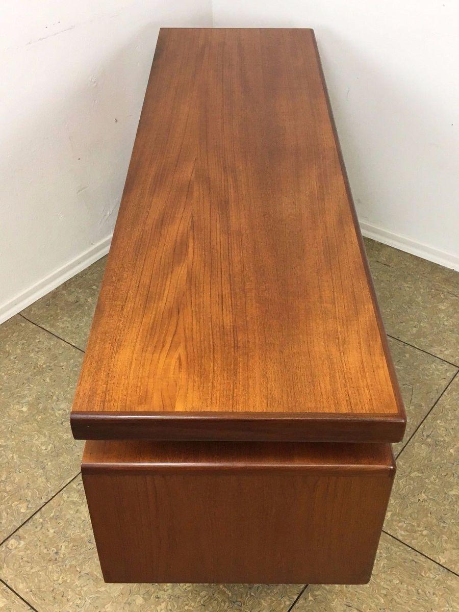 teak frisiertisch mit spiegel von victor wilkins f r g plan 1970er bei pamono kaufen. Black Bedroom Furniture Sets. Home Design Ideas