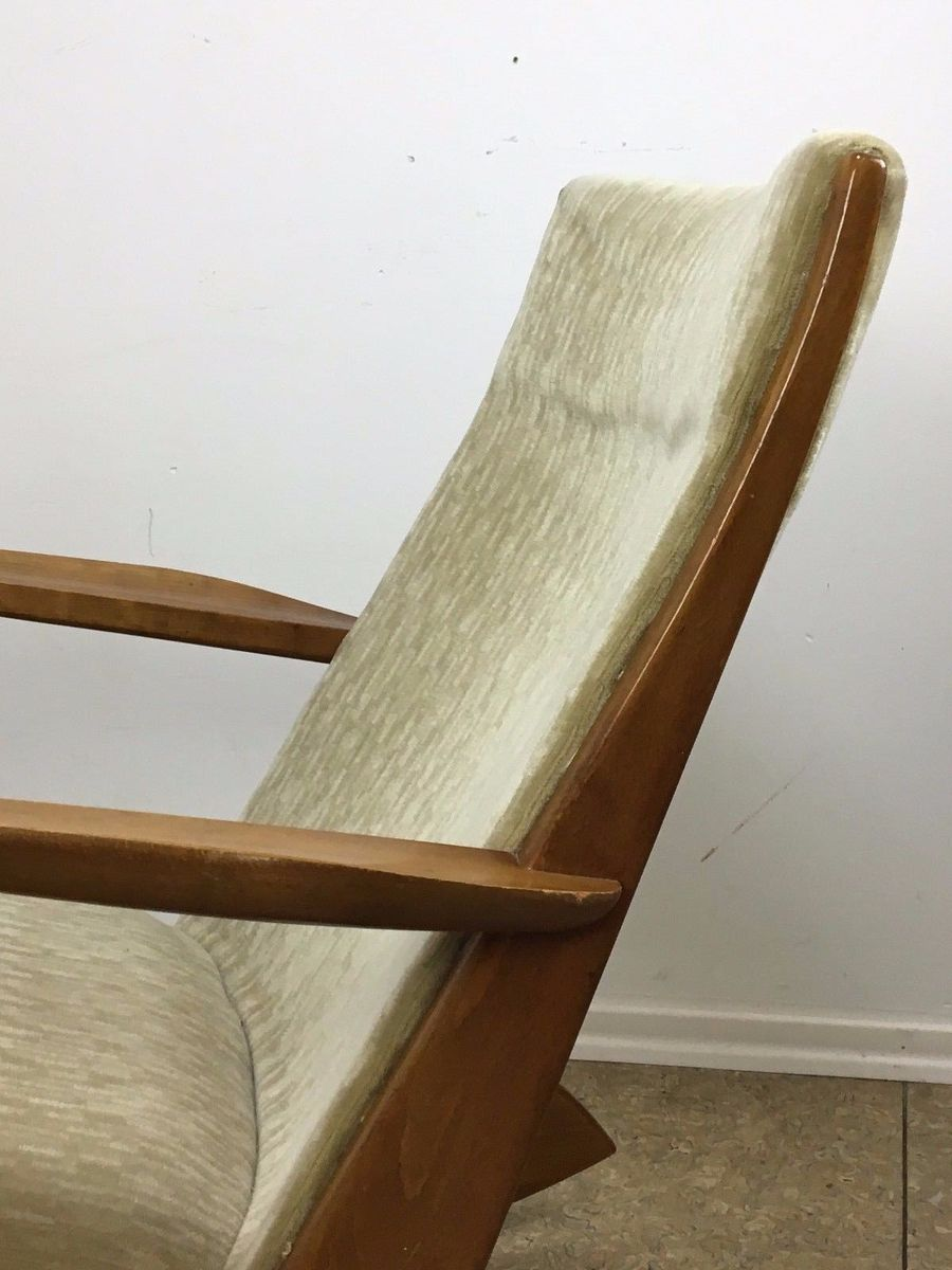 schaukelstuhl von georg jensen f r kubus 1960er bei pamono kaufen. Black Bedroom Furniture Sets. Home Design Ideas