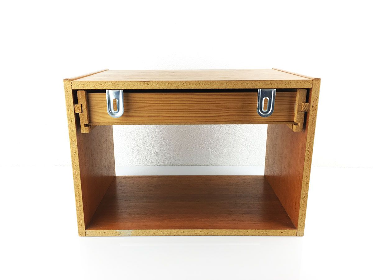 MidCentury Danish WallMounted Bedside Tables Set of 2 for sale