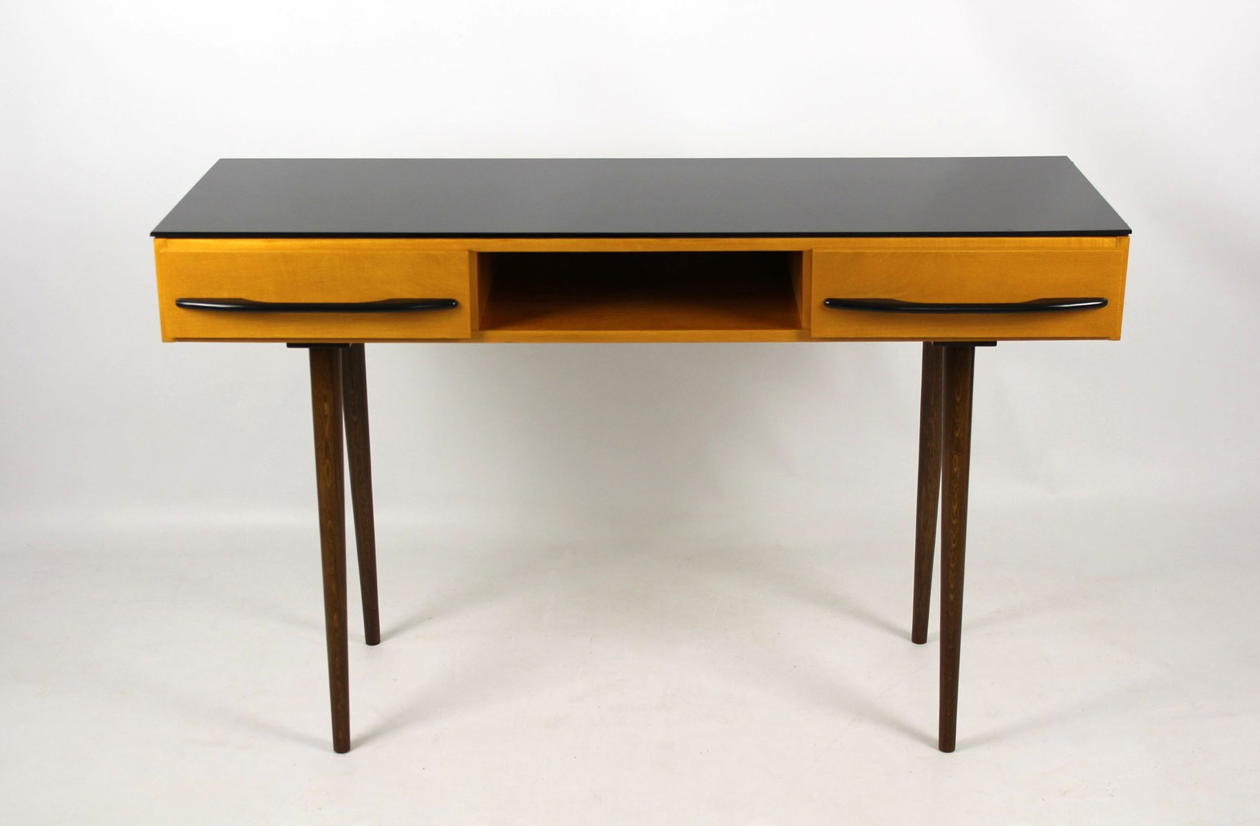 Mid century desk or console table by m po r for up bu ovice 1960s for sale at pamono - Used console table for sale ...