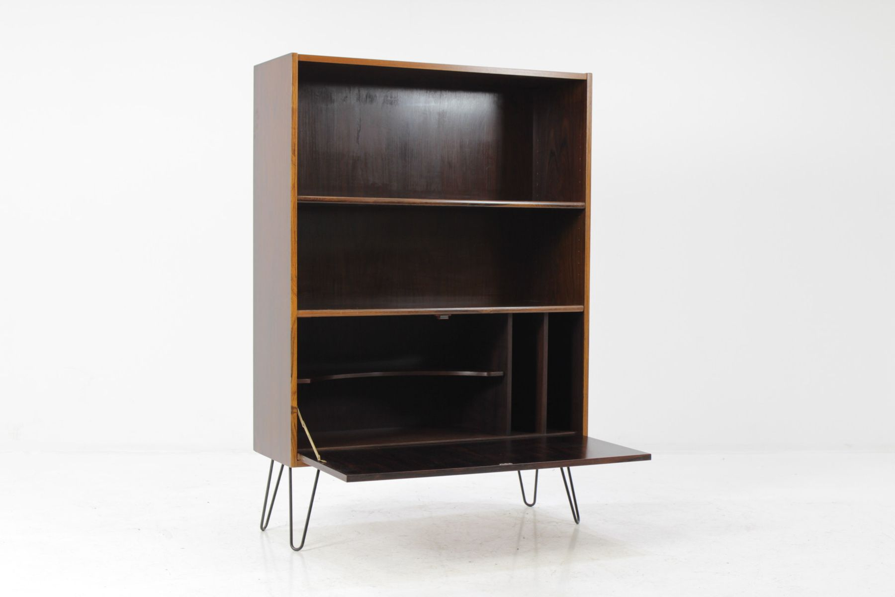 mid century danish palisander sideboard for sale at pamono. Black Bedroom Furniture Sets. Home Design Ideas