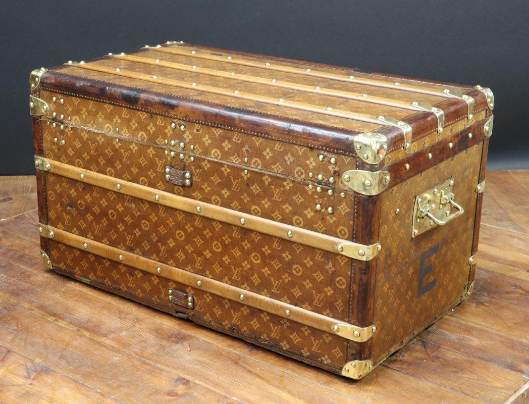 Antique Steamer Trunk Louis Vuitton