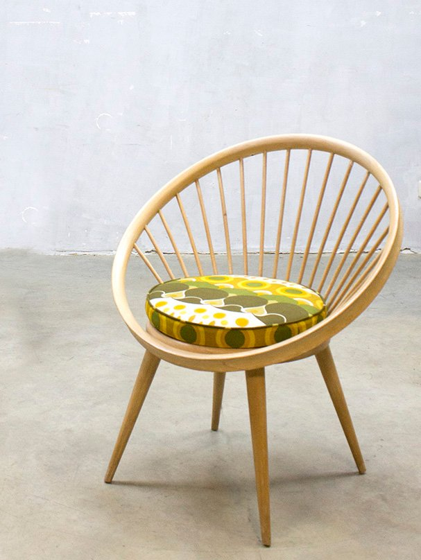 Vintage Circle Chair by Yngve Ekstrm for Swedese