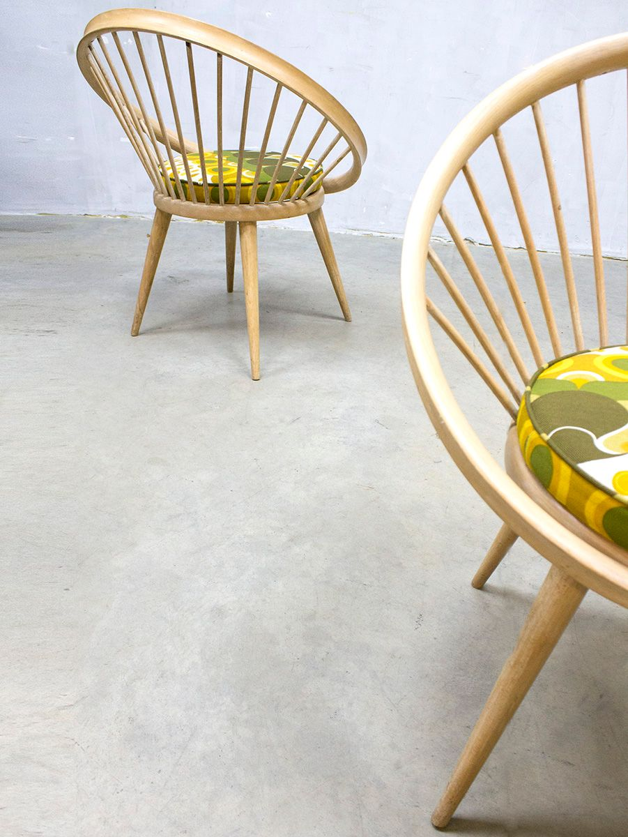 Vintage Circle Chair by Yngve Ekström for Swedese for sale at Pamono