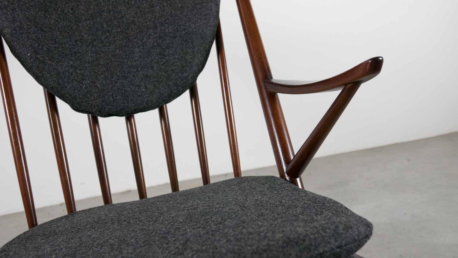 Frank reenskaug rocking chair - Mid Century 182 Rocking Chair By Frank Reenskaug For Bramin